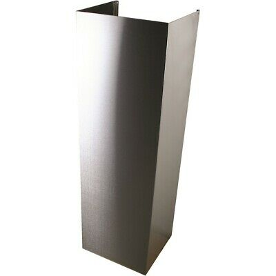 Yosemite Home Décor YHD 38 Flue Ext. Stainless Steel - MDC38CR