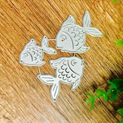 Fish Metal Carbon Steel Cutting Dies Stencils DIY Scrapbooking Album Die Cuts