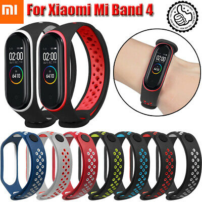 For Xiaomi Mi Band 4 Soft Replacement Wristband Watch Band Strap Bracelet 8Color