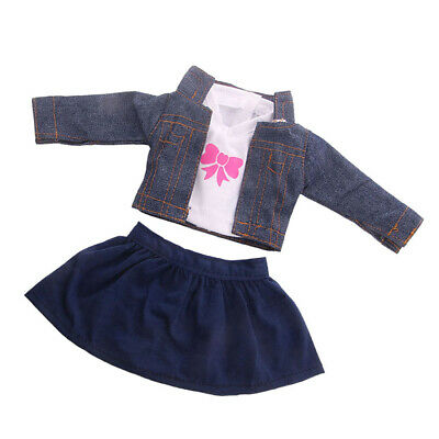 18inch Doll Accessories Coat, Top & Dress Suit for AG American Doll Dress Up