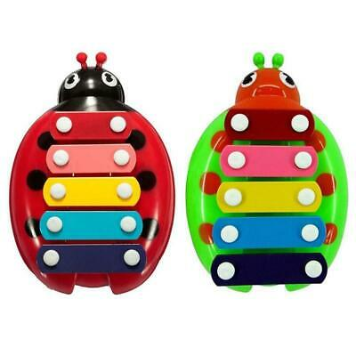 Wooden Beetle Knock Piano Music Xylophone Toys Kids Toddler Educational Toy Gift