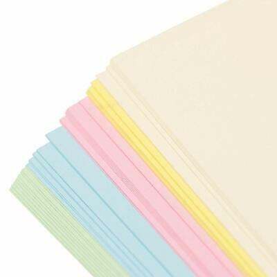 A5 Neon Card Assorted Colours 180gsm pack of 40 Sheets