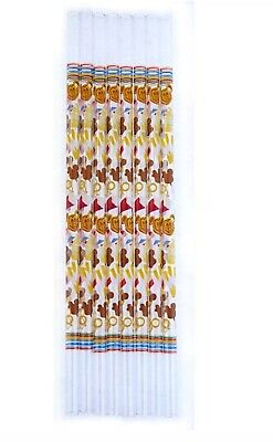Disney Parks Sweet Treats Reusable Straws 8 Pack New In Package