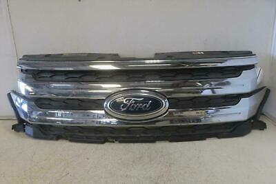 2012-2014 FORD EDGE Grille upper cover mounted assembly bars & housing OEM
