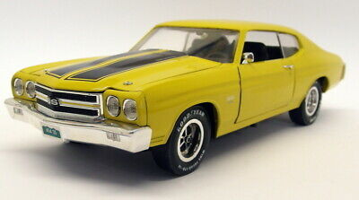 Ertl 1/18 Scale Diecast - UB115 Chevrolet Chevelle SS 454 Yellow Black