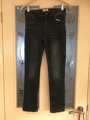 Boys Clothes 10-11 Years Fatface Blue Jeans (682)
