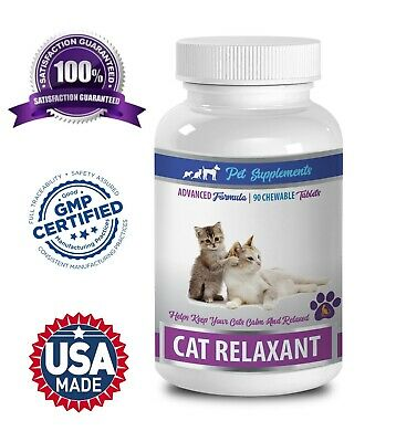 calming treats for cats - CAT RELAXANT - tryptophan cat 1B