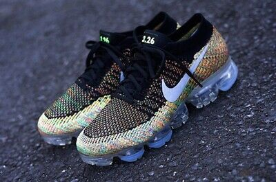 Men's Nike ID Vapormax Flyknit Air Max Day Size 10 Multicolor 941927-992