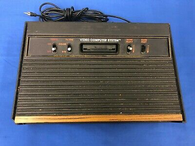 Atari 2600 Console only WORKS Missing Switch Taiwan CX-2600 See details 4 switch