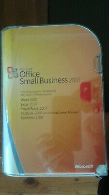 Microsoft Office Small Business 2007 Retail Pack