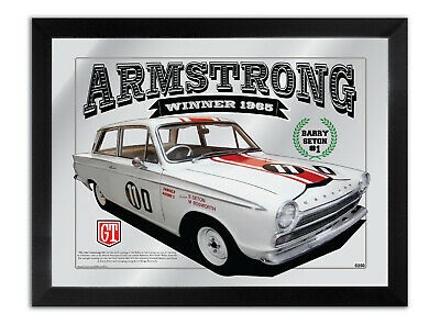 Bar Mirror Armstrong 500 Winner 1965 Barry Seton Mk 1 Cortina Gt Collection