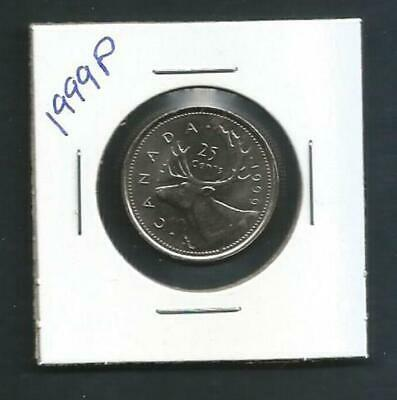 Canada - 25 Cents - 1999P - Specimen Coin from RCM set