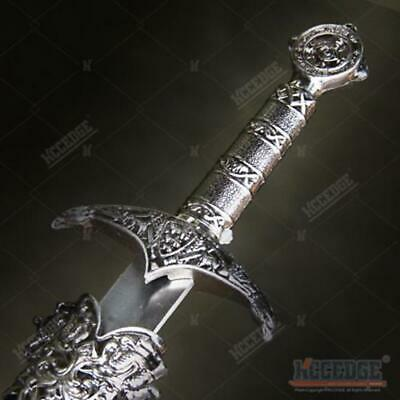 """17.5"""" Medieval Serpent Crusader Dagger with Stainless Steel Blade"""