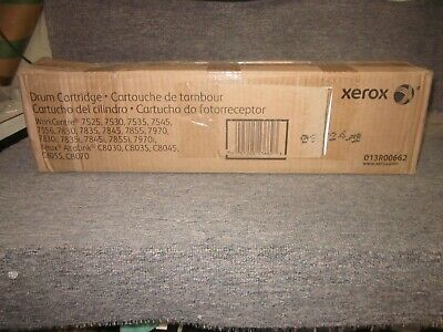 Genuine Set of 4 Xerox 013R00662 Drum Cartridges WC 7525 7530 7535 7545 BNIB