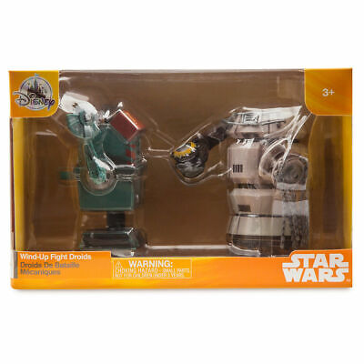 Star Wars Solo Story Disney Park exclusive Wind-Up Droids 2-pack 2018 !
