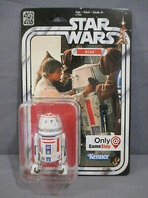 Star Wars Black Series R5-D4 40th Anniversary Gamestop Exclusive Action Figure