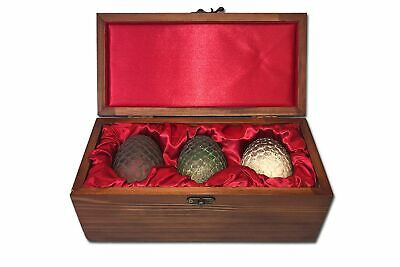 Game of Thrones Dragon Eggs Prop Replica Set -House Targaryen Limited Edition