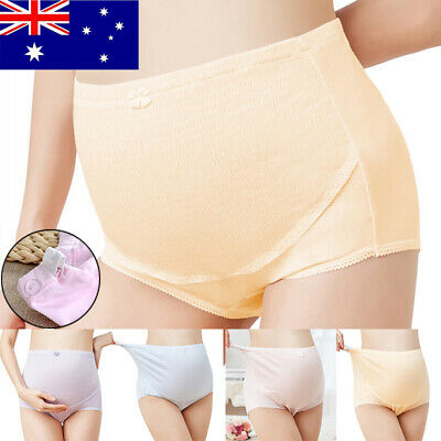 Cotton Maternity Panties High-waist Intimates Pregnant Mum Soft underwear Briefs