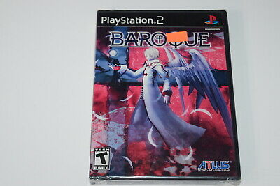 Baroque Playstation 2 PS2 Video Game New Sealed