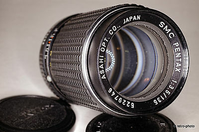 SMC Pentax 135mm f/3.5, hard-to-find non-M version, K mount, TESTED, excellent