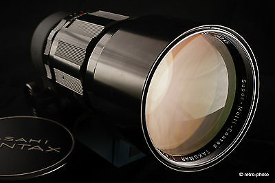 Pentax S-M-C Super-Multi-Coated SMC TAKUMAR 300mm f/4, M42, TESTED, case, Exc.