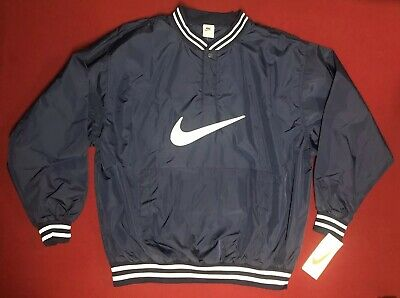 856648c64e601 VINTAGE NIKE BLUE Big Swoosh Sweatshirt Jumper | Athletic Air Sport ...