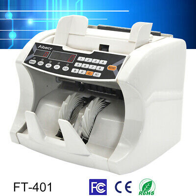 Aibecy Multi-Currency Money Counter Counting Machine UV MG Counterfeit Detector