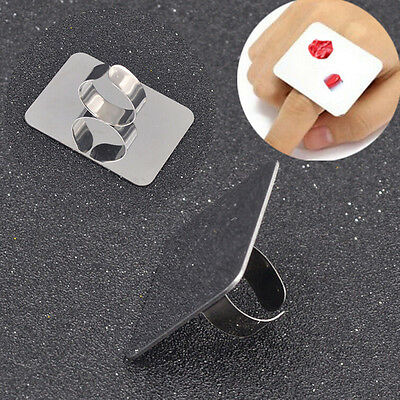 Palette Adjustableing for Nail Art Foundation Mixing Makeup Stainless Steel GSC