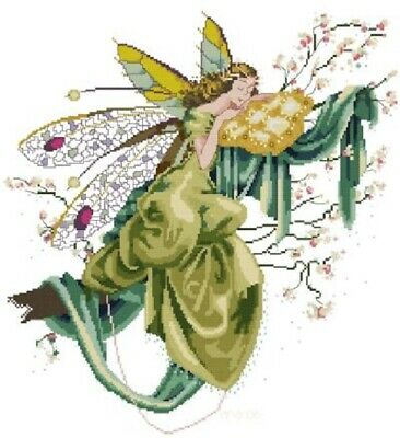Lilly of The Woods cross stitch chart