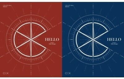 Cix - Hello Chapter 1 (Hello Stranger) (Incl. 84pg Photobook, 3 Photocards,Illus