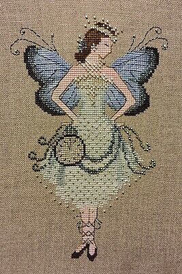 Miss New Year's Fairy cross stitch chart a