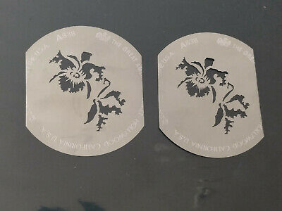 ONE (1) GAM Great American Market A838 flower gobo template pattern