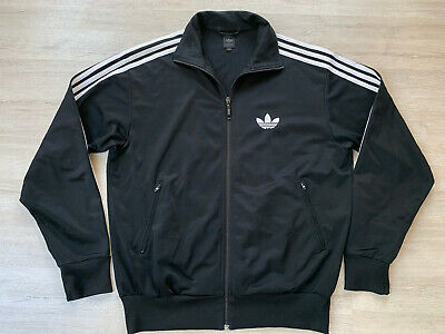 Original 90er ADIDAS Trainingsjacke Blau Weiß 90s Trackjacket
