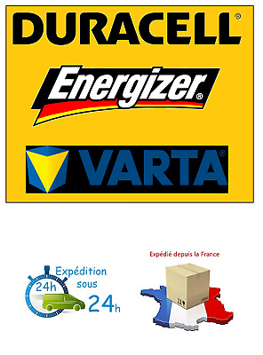 Piles rechargeables accu DURACELL/ENERGIZER/VARTA AAA/AA HR03/HR6 PRIX DEGRESSIF