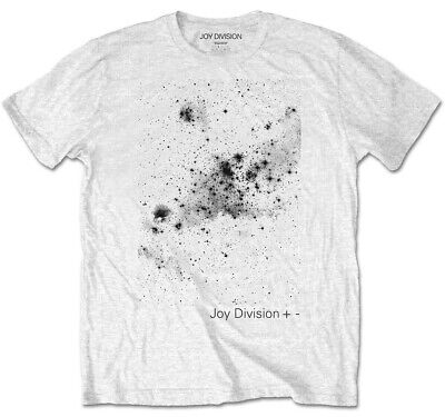 Joy Division 'Plus/Minus' (White) T-Shirt  - NEW & OFFICIAL!