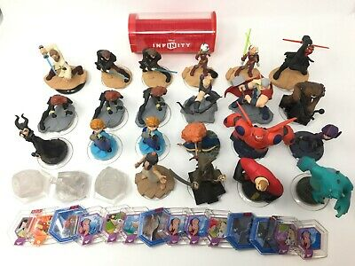 Lot of Disney Infinity Figures & Accessories ~ Star Wars, Marvel, Incredibles