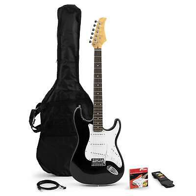 Tiger Beginners Full Size Electric Guitar Bundle - Strap, Picks, Lead and Bag