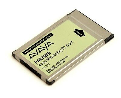 Avaya Partner Large Voice Messaging PC Card Voicemail (108505306) | Refurbished