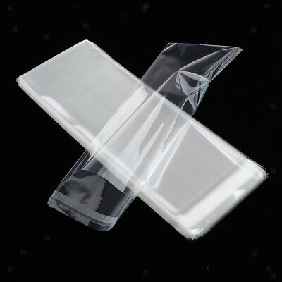 100Pc Cellophane Cello Bags Large Self Adhesive Peel Seal Clear for Clothing