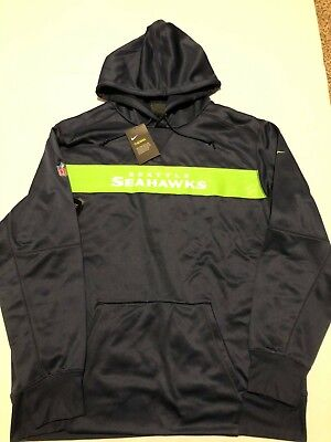 check out f4bc1 15228 NWT $125 MEN S~3XL Nike Therma Player NFL ONFIELD Seattle ...