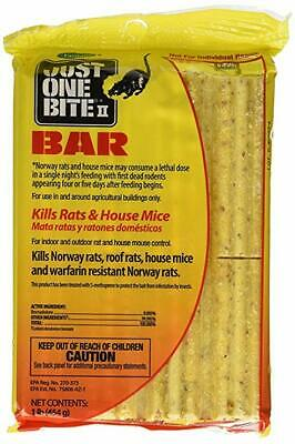 FARNAM JUST ONE Bite bait bar kill rats mice squirrels chipmunks