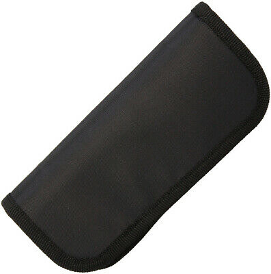 Carry All Black Zipper Portable Travel Knife Pouch Case 209