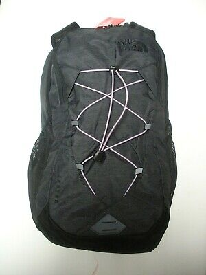The North Face  Womens Jester Backpack- Laptop Sleeve-A3Kv8- Asphat Grey/ Purple