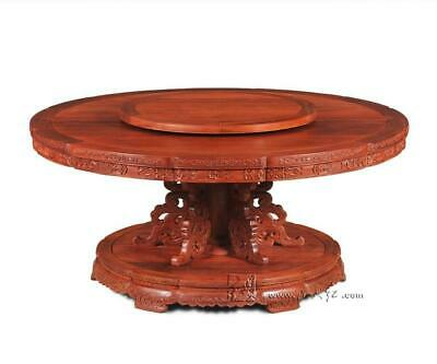 Hotel High Grade Round Table 16 person Seat Big Table Rosewood Dining Desk New C