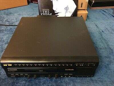 Pioneer LaserDisc CD Player Karaoke Model CLD-V860 No Remote Tested