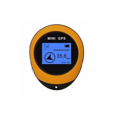 Mini GPS Tracker Navigation Locator Real Time Yellow For Travel Sport Motorcycle