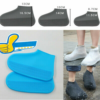 Silicone Overshoes Rain Waterproof Shoe Covers Boot Cover Protector Recyclable