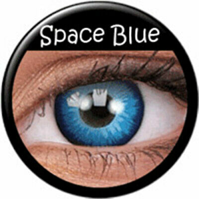 Lentillas Space Blue phantasee Azules (Anuales) phantasee