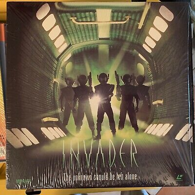 """Invader - 12"""" Laserdisc Buy 6 for free shipping"""