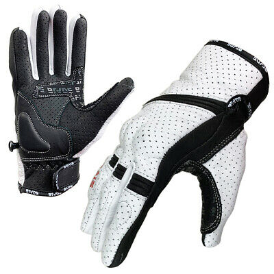 Blade® Summer Motorcycle Gloves Motorbike Knuckle Protection Winter Best Leather